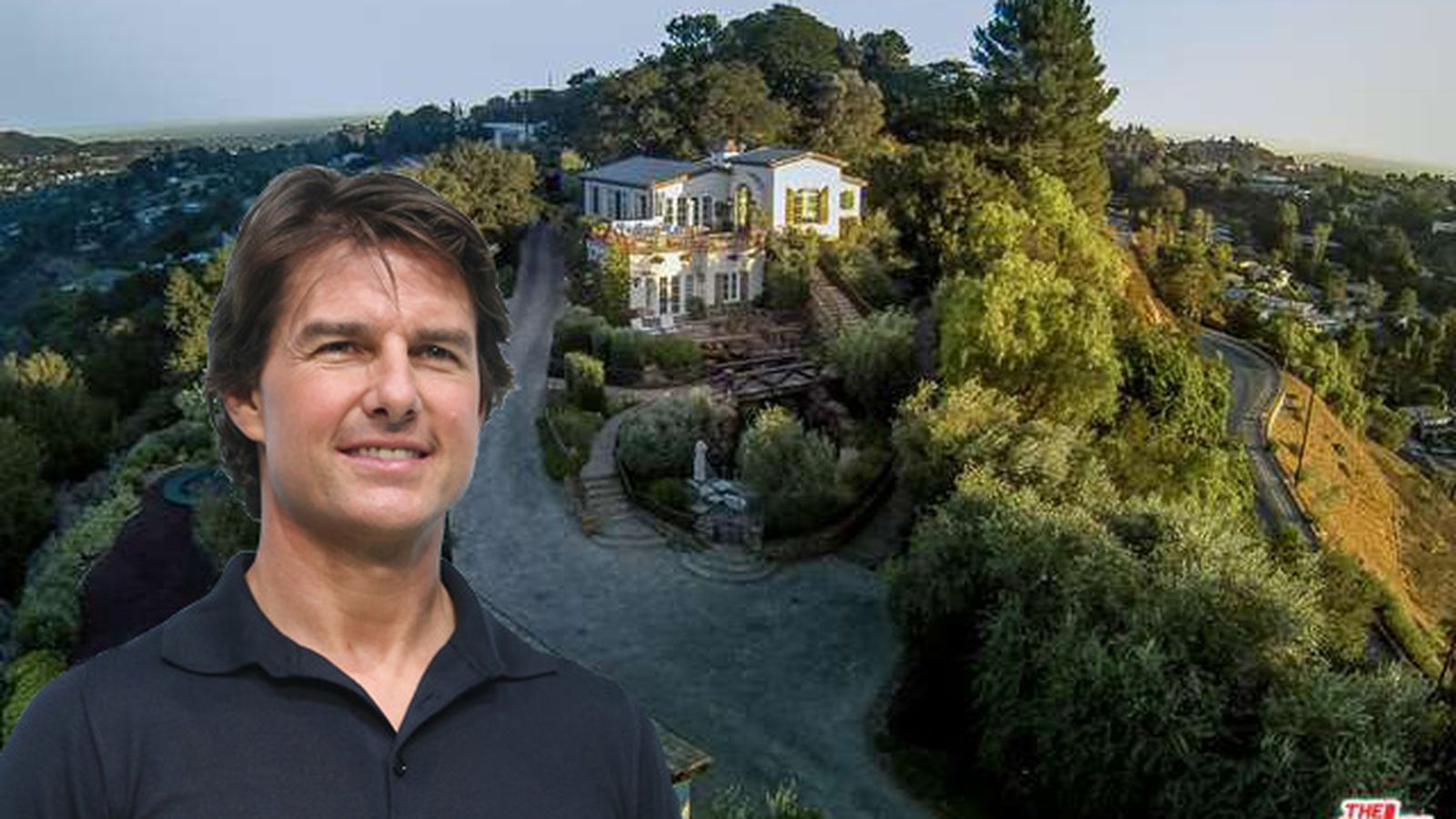 Tom cruise sells his european style laurel canyon house for Laurel home