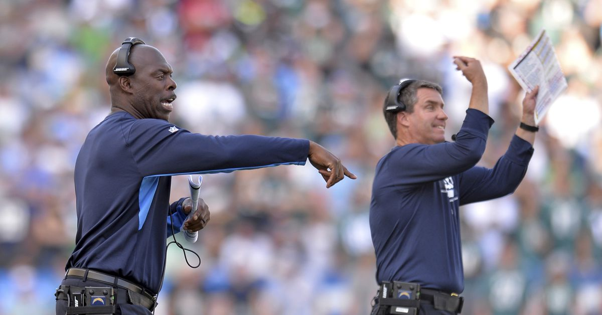 Chargers Vs Eagles Anthony Lynn Is Making Changes We