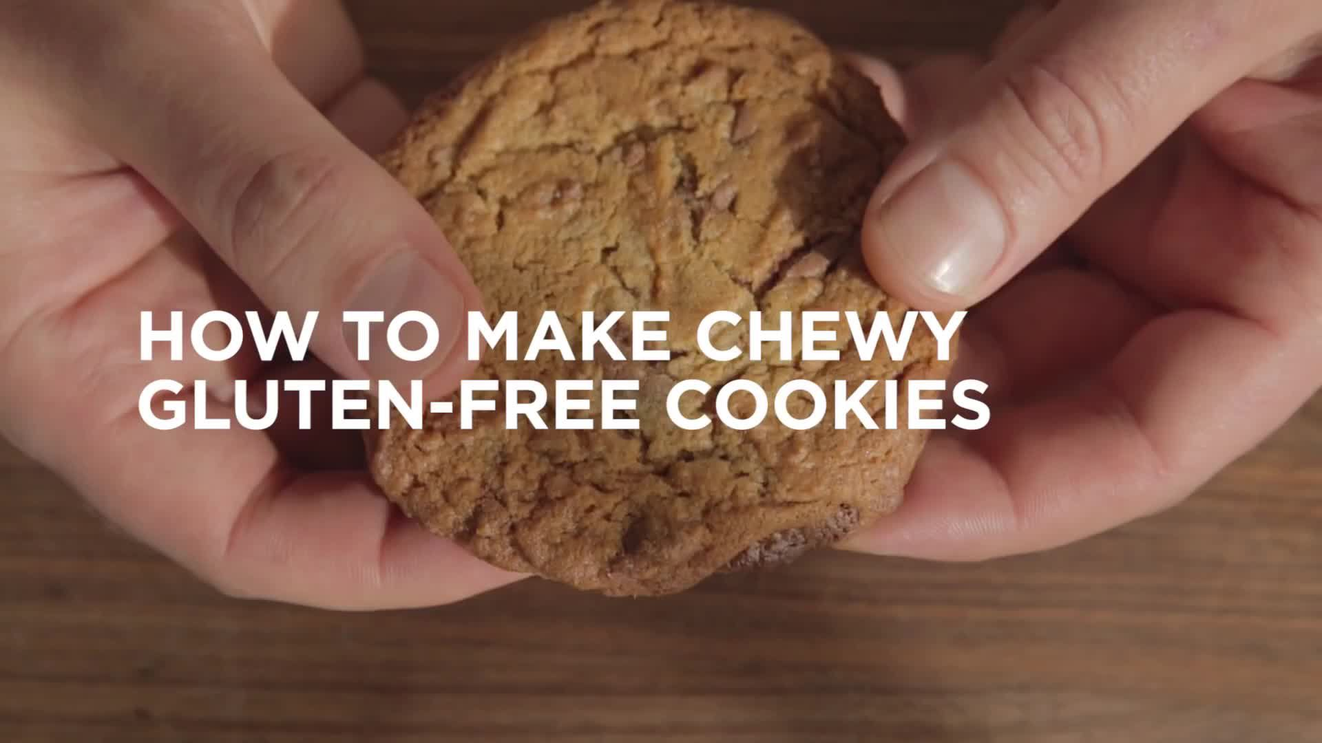 How to Make Chewy (Gluten-Free) Cookies