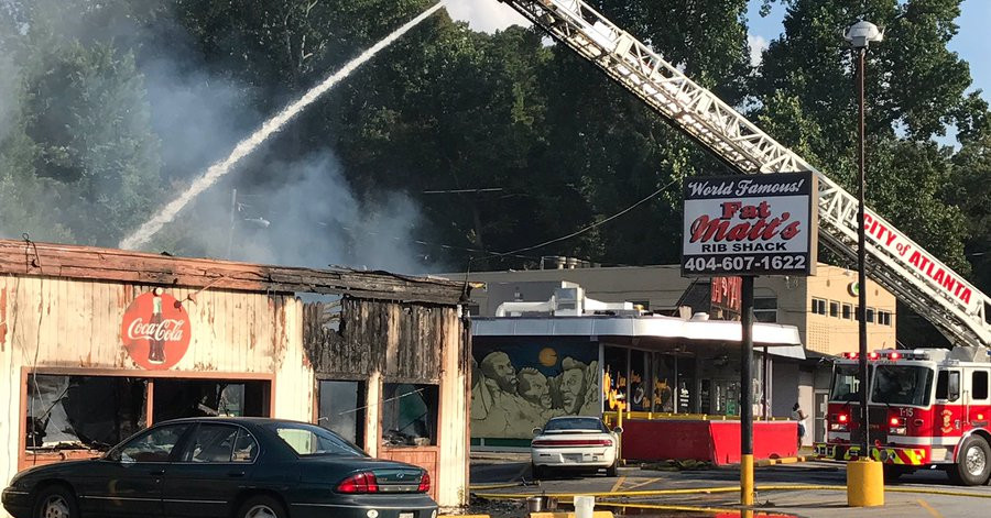 Fat Matt S Rib Shack Caught Fire Monday Evening Eater