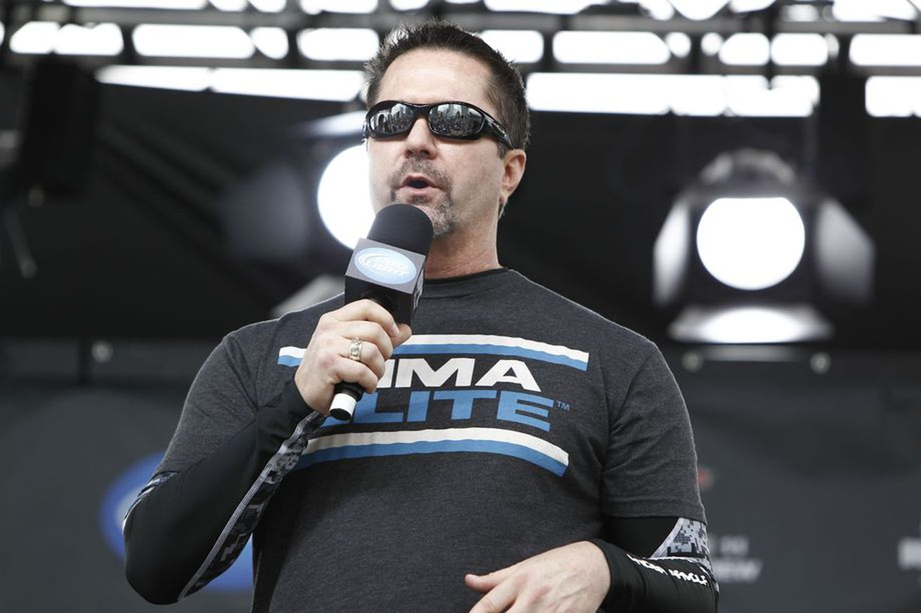 Scott Coker on Mike Goldberg: We're trying to see if we can fit him in Bellator, but it's not imminent