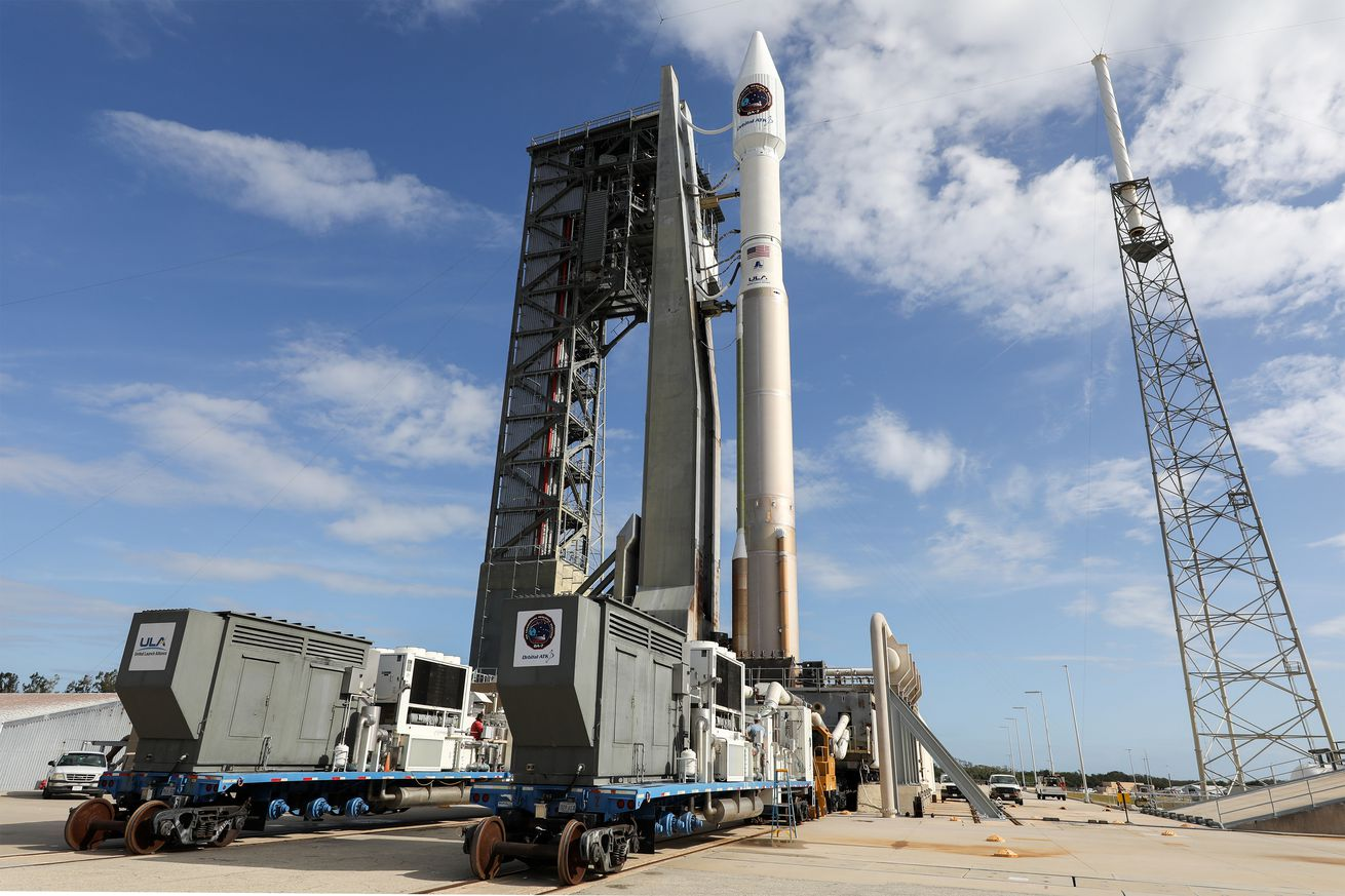 Watch an Atlas V rocket send a cargo capsule honoring John Glenn to the space station this morning