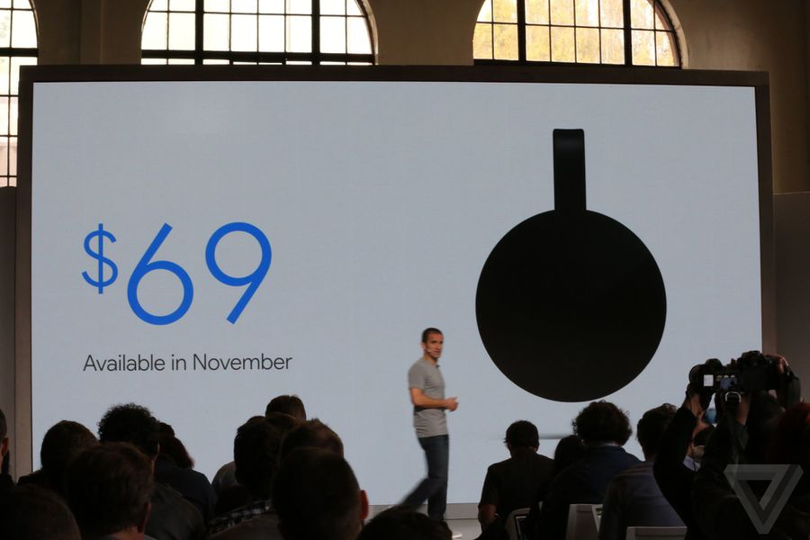 Google's play for the living room: Wifi, Chromecast and Home