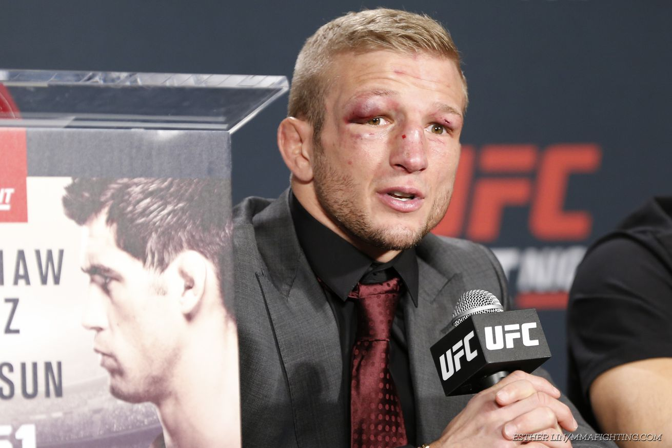 community news, T.J. Dillashaw: Urijah Faber, Conor McGregor brought me on The Ultimate Fighter as a trap