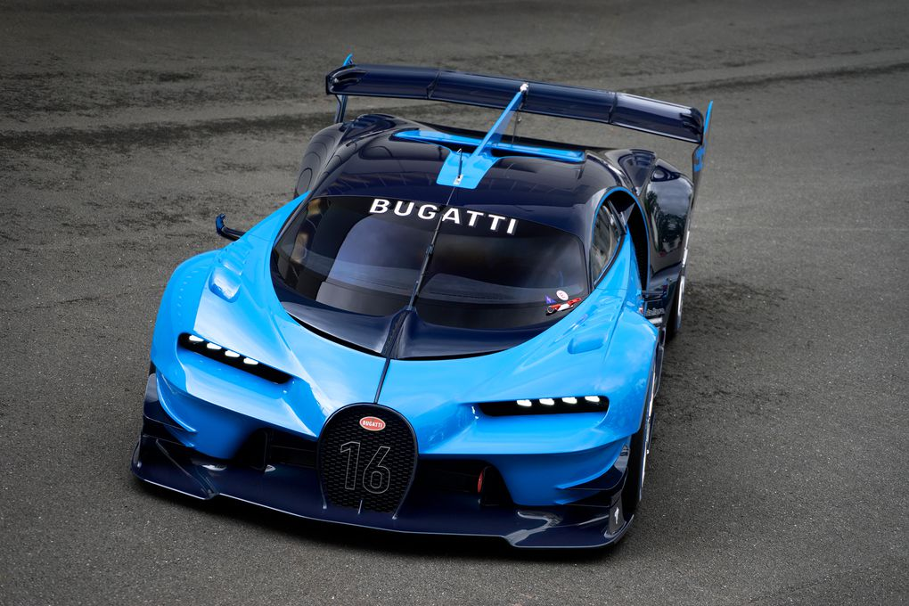 this is the real live version of bugatti 39 s vision gran turismo video gam. Black Bedroom Furniture Sets. Home Design Ideas