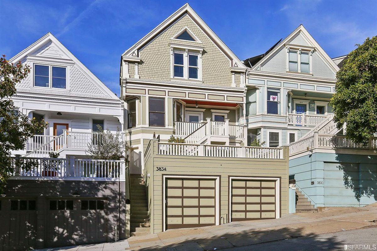 Noe valley victorian home with attic loft space seeks 2 4 for San francisco open houses for sale