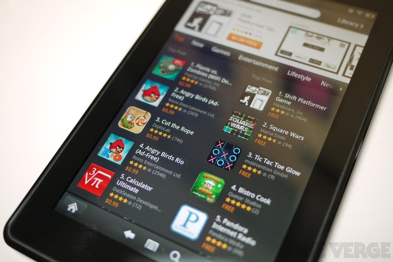 Phone Amazon Kindle For Android Phone amazon kindle fire redirects all android market requests to app store the verge