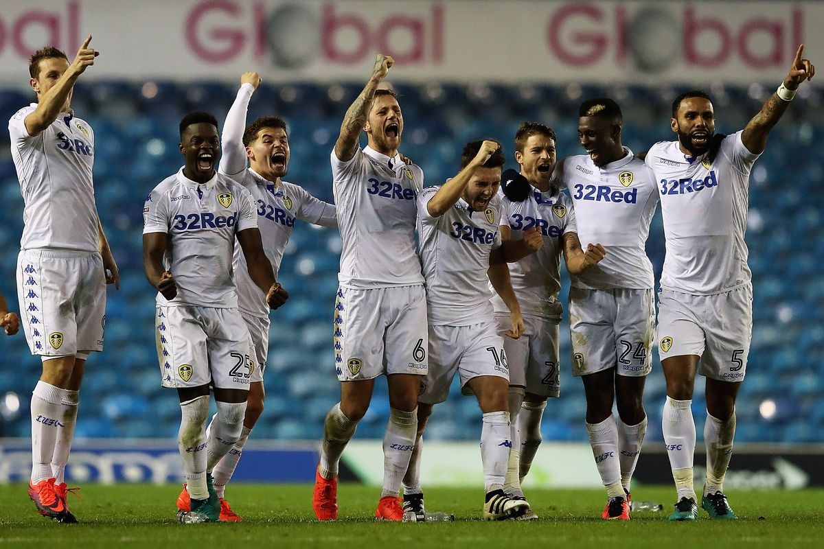 leeds united and promotion to the premier league is it just too long the good times at elland road continue matthew lewis getty images