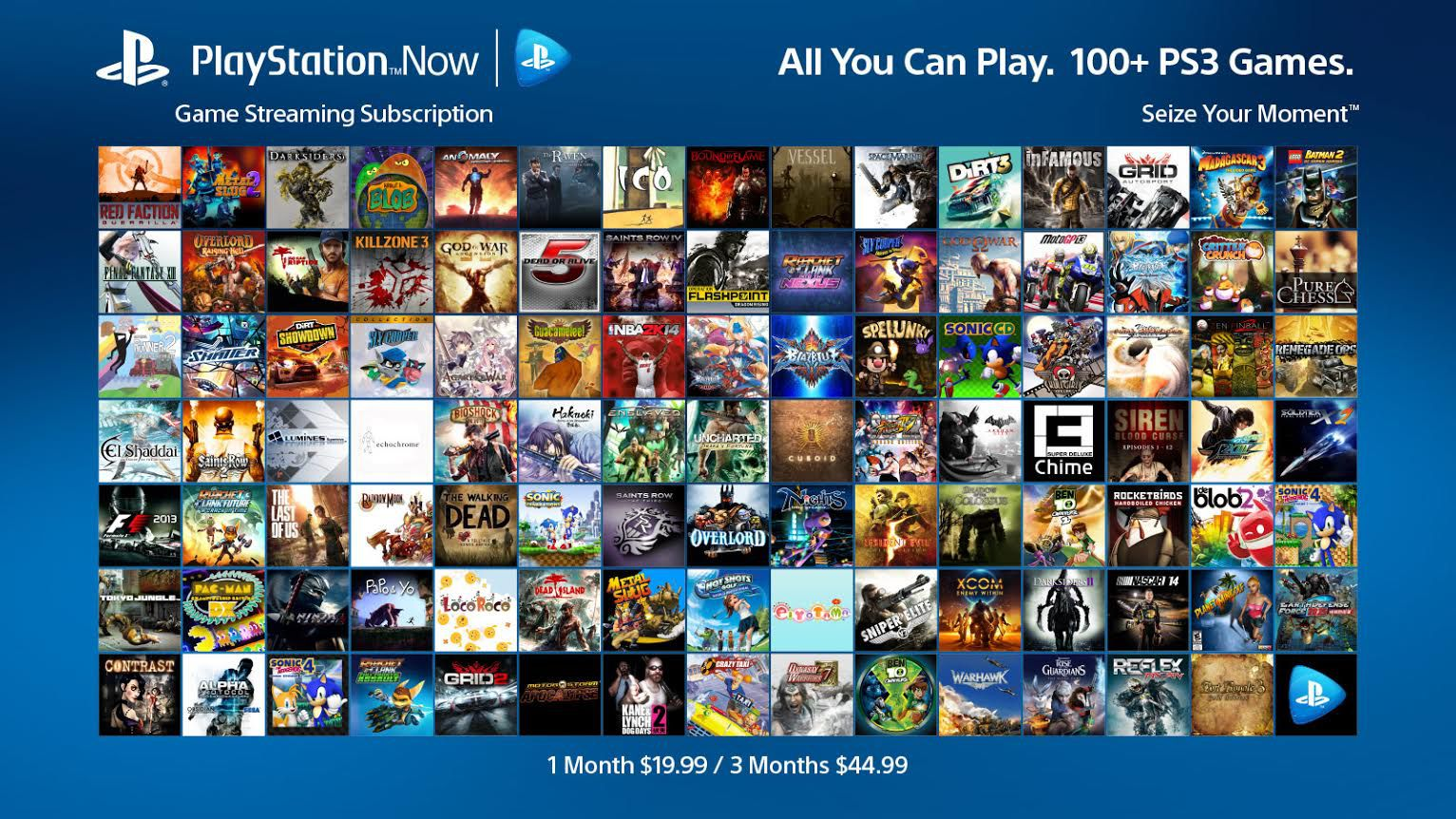 All Playstation 1 Games : Playstation now all you can play subscriptions hit next