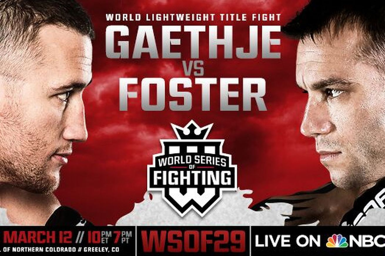 community news, WSOF 29 results: Video highlights, gifs and more for Gaethje vs Foster on NBC Sports Network