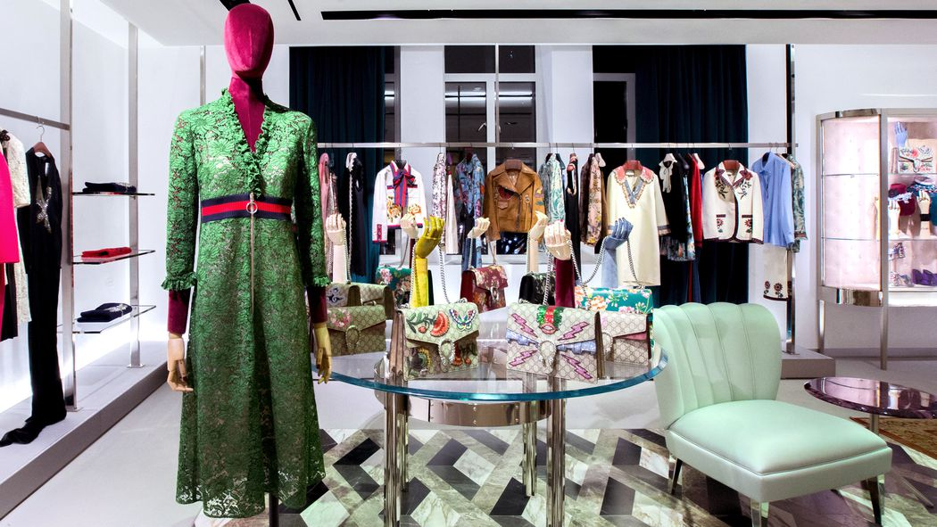 Gucci let alessandro michele loose in bergdorf goodman racked ny - Bergdorf goodman shoe salon ...
