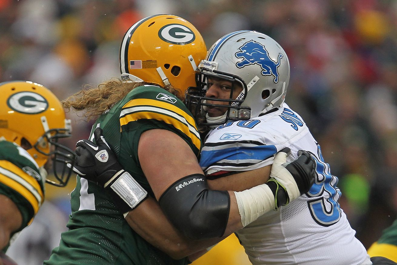 NFL Jerseys Official - Lions notes: Detroit names blocking sled after Packers guard Josh ...