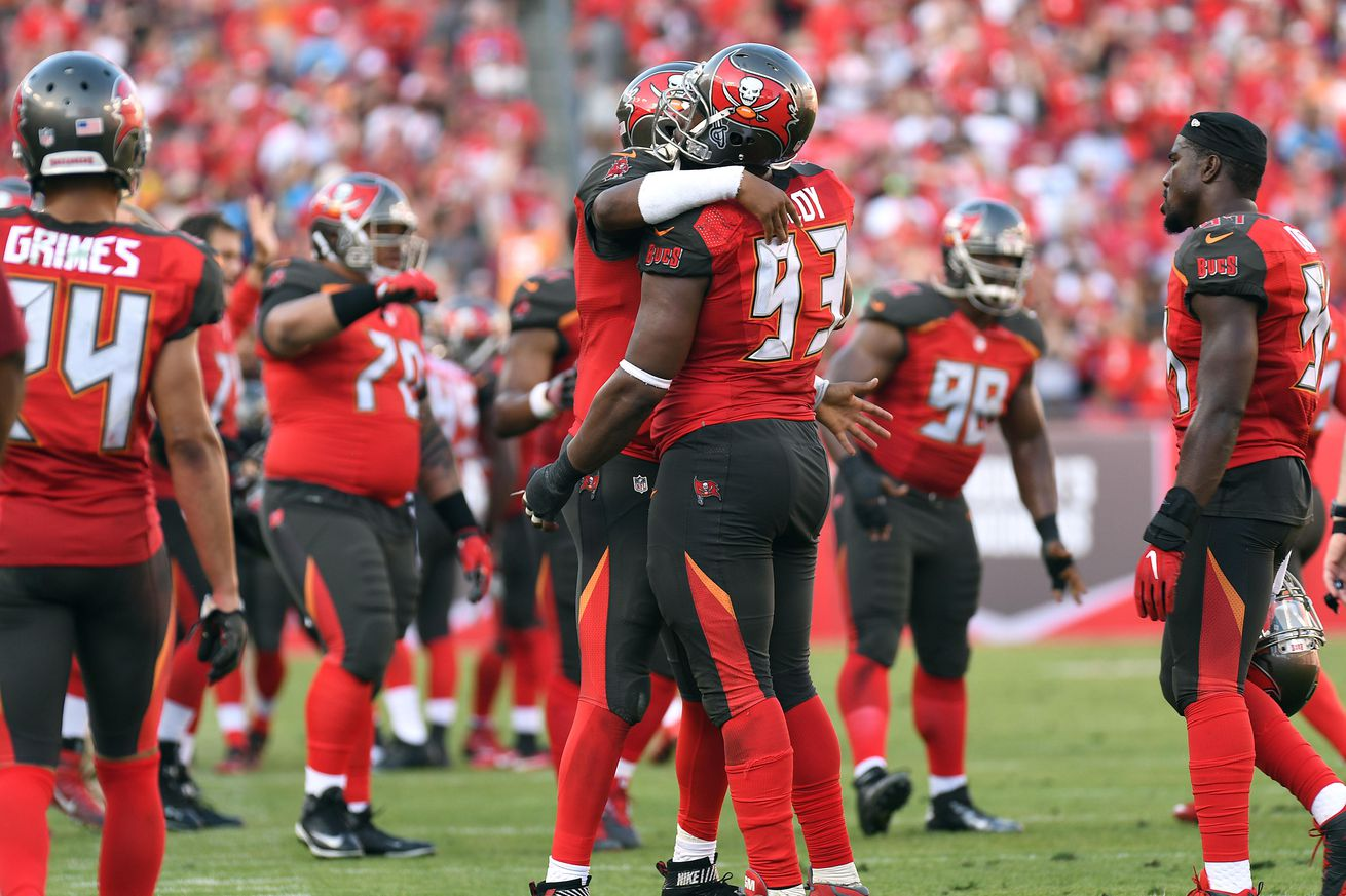 Gerald McCoy, Jameis Winston make NFL Top 100 of 2017