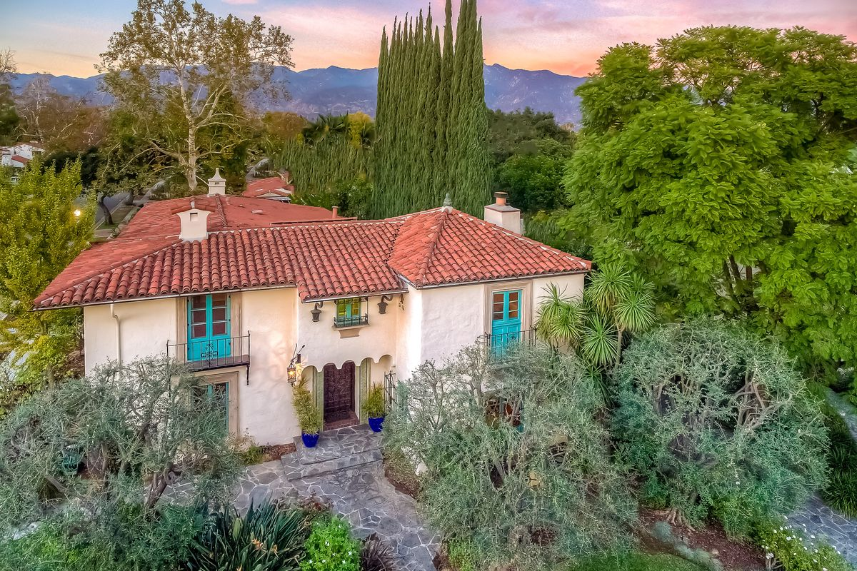 1920s spanish moorish style house is loaded with lavish for Spanish style homes for sale