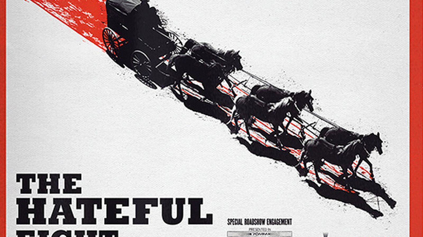 The hateful eight release date in Brisbane