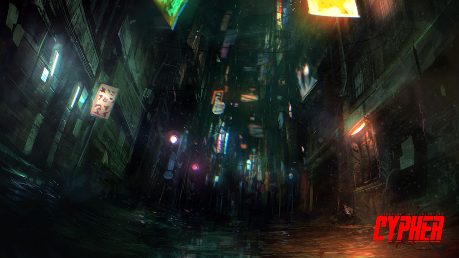 Cyberpunk Meets Interactive Fiction The Art Of Cypher