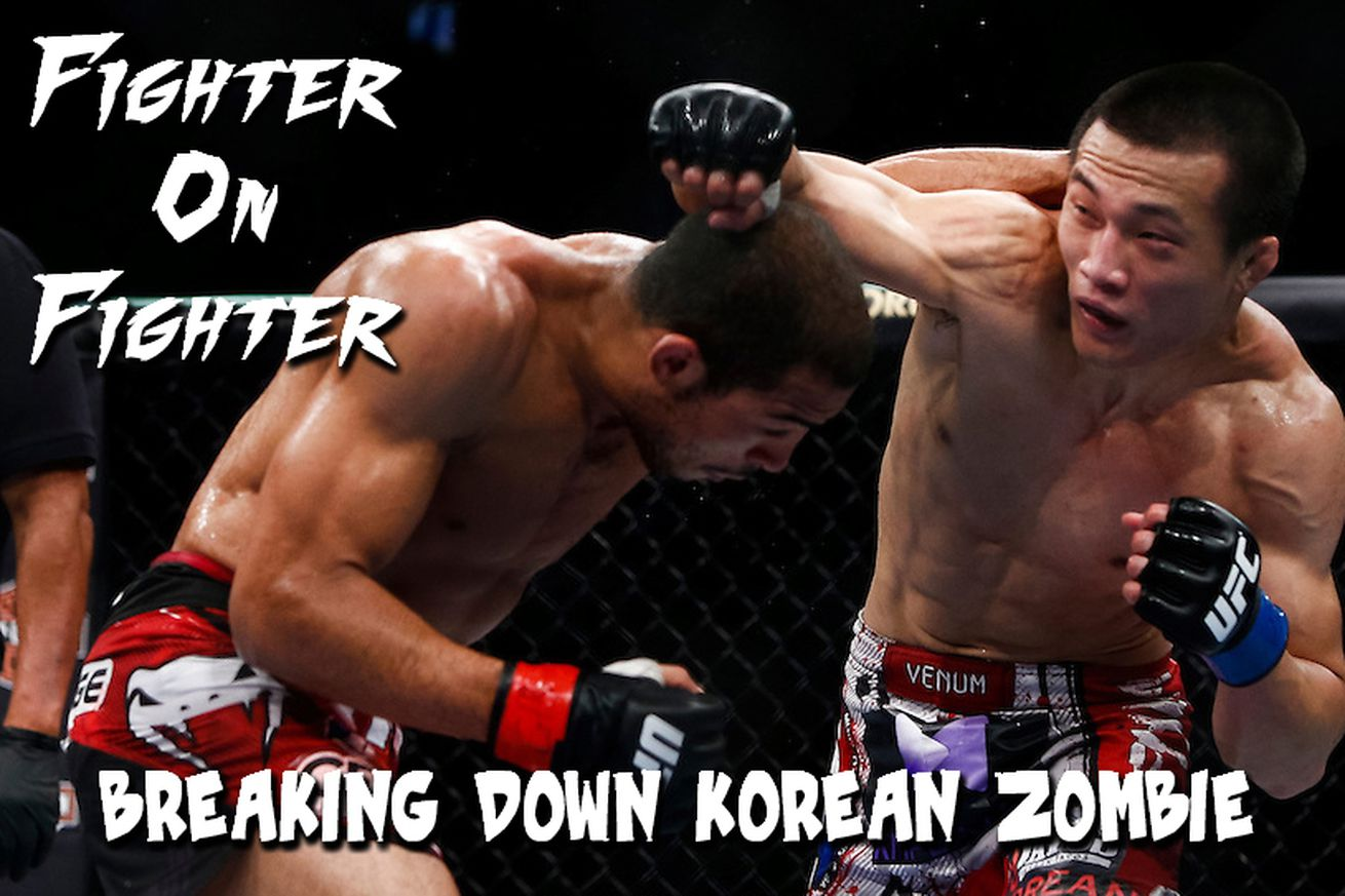 Fighter on Fighter: Breaking down UFC Fight Night 104s Korean Zombie