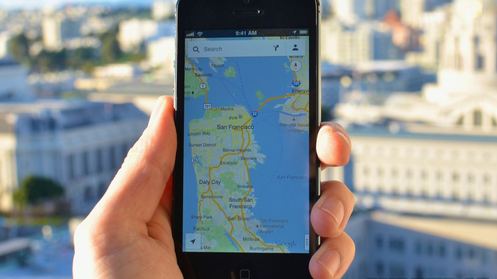 Phone How To Use Google Maps On Android Phone google maps for iphone is here how data and design beat apple the verge
