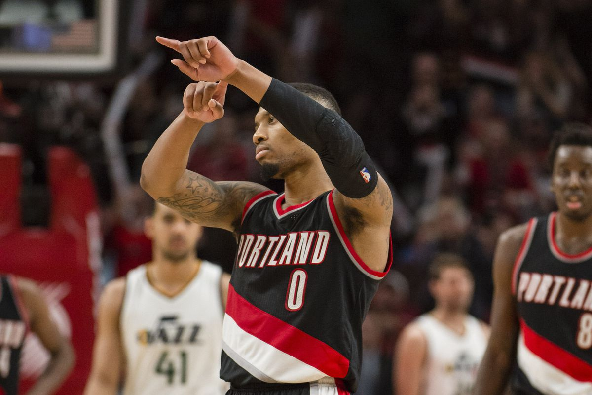Damian Lillard's big game not enough as Portland drops Game 1