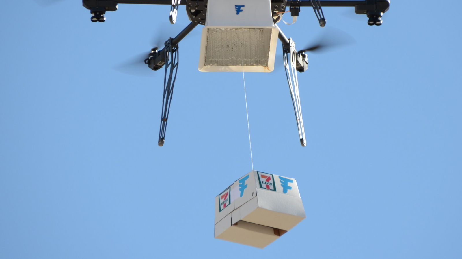 7 Eleven Just Made The First Commercial Delivery By Drone