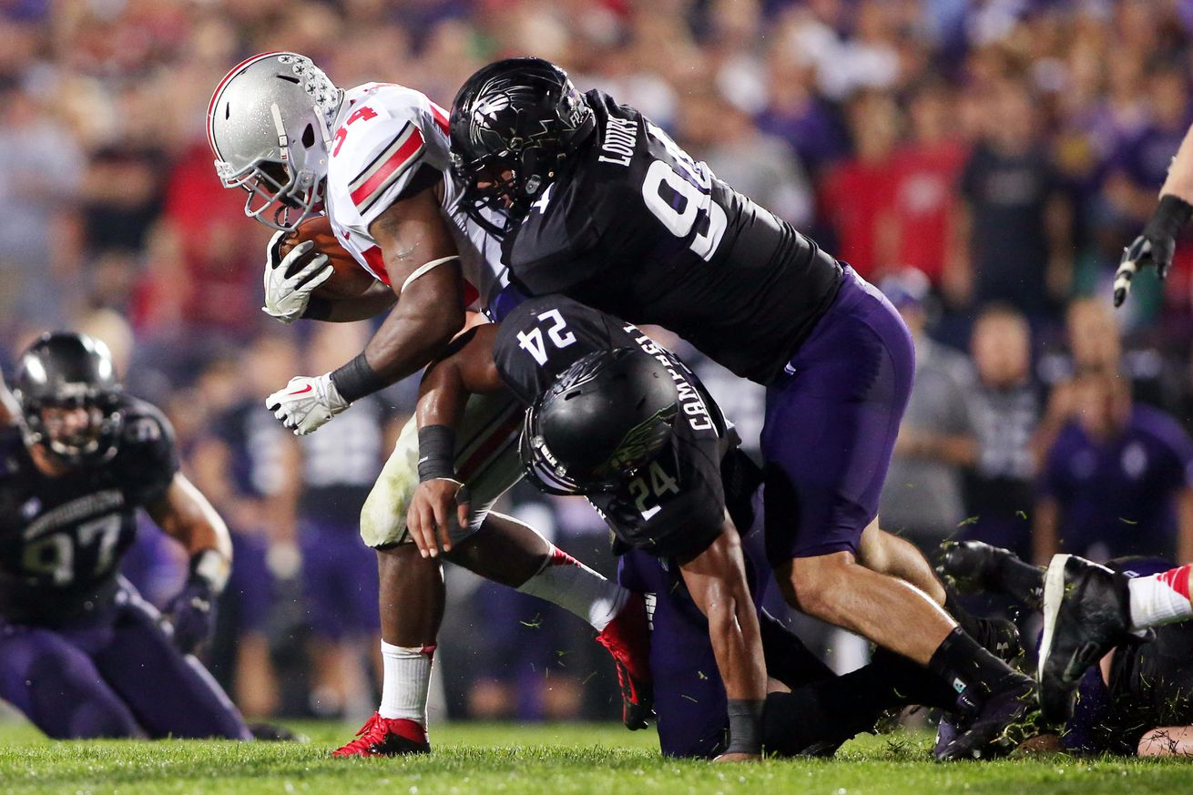 Nike jerseys for sale - Northwestern Football Most Important Players �� No. 9: Dean Lowry ...