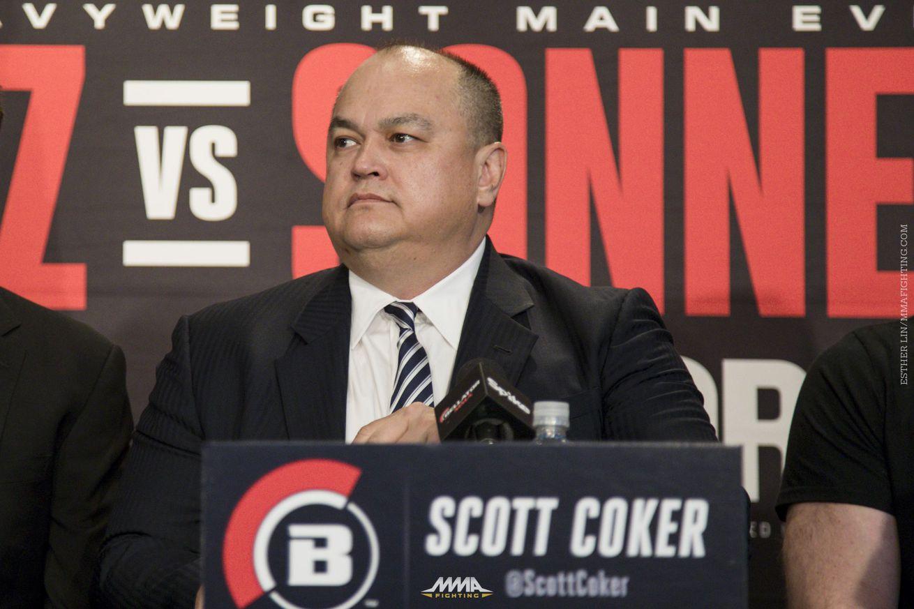 Bellator notebook: Scott Coker talks Mayweather McGregor, Matt Hughes, future of Josh Koscheck, more