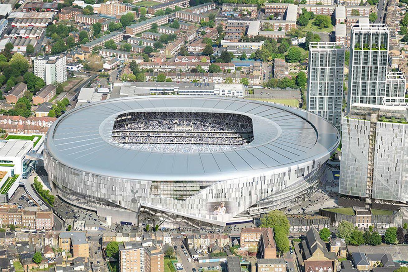 Tottenham 39 S Stadium Construction To Take Place In Three