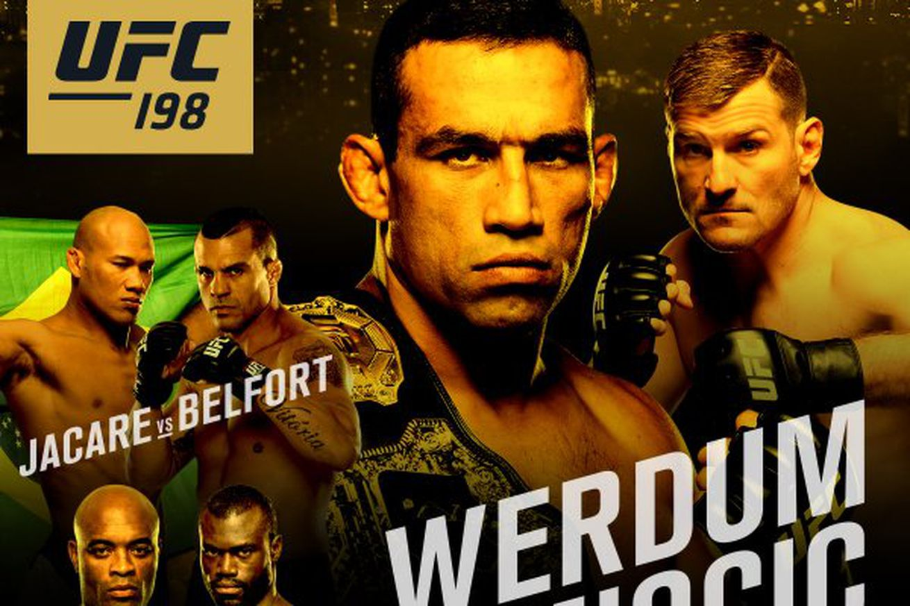 community news, UFC 198 tickets: Werdum vs Miocic seats for sale online for Brazil on May 14