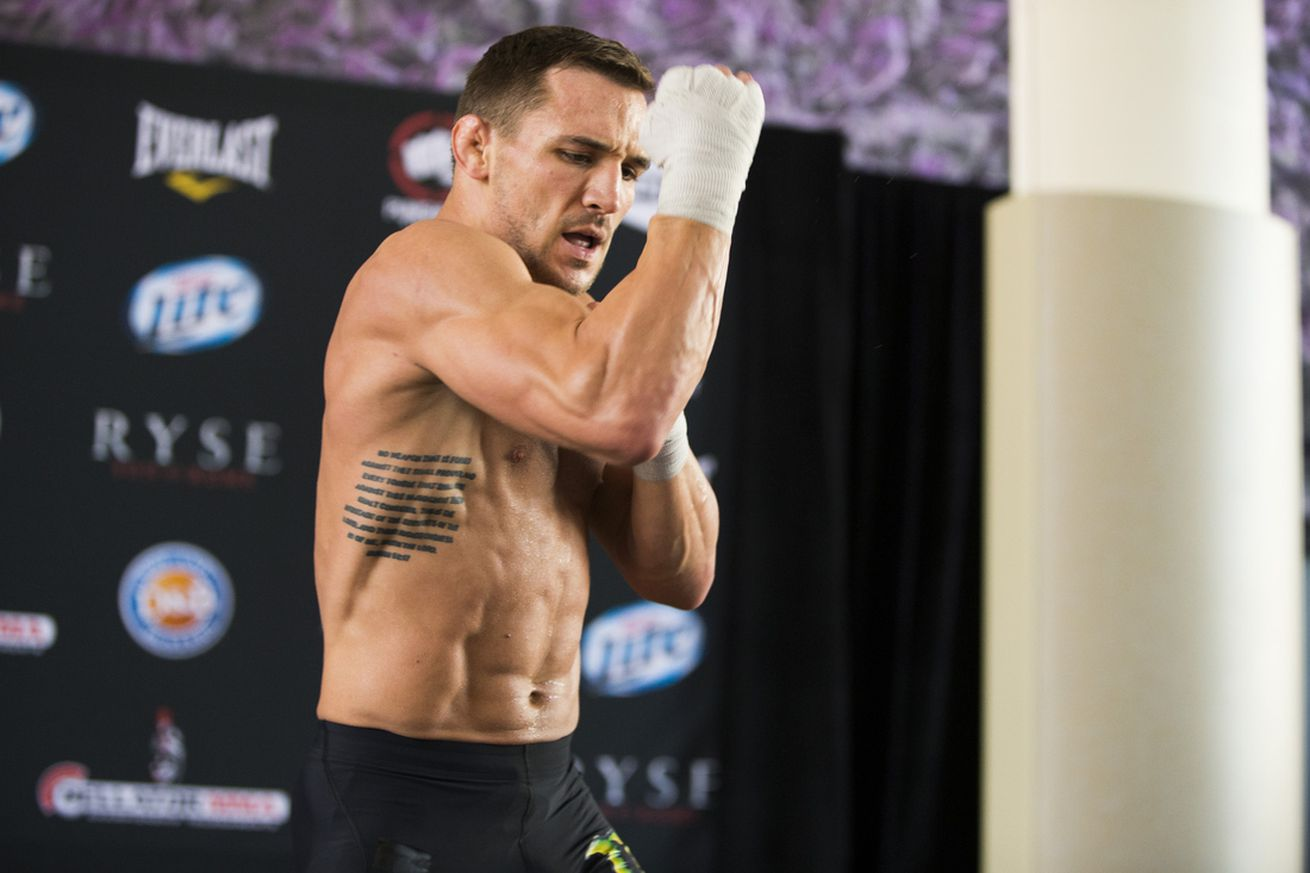 Michael Chandler vs. Brent Primus title fight set for Bellator 180