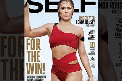 community news, Pic: Ronda Rousey, Self Magazine cover girl