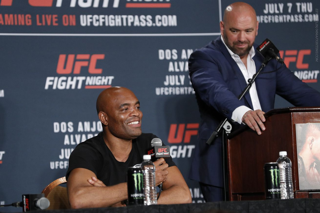 Anderson Silva says new owners are turning the UFC into less sport, more entertainment