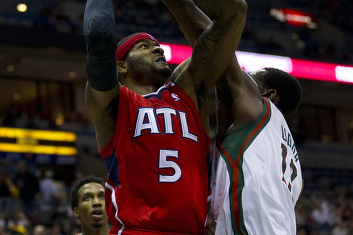 josh smith trade hawks turn down bucks offer at last minute jeff hanisch us presswire