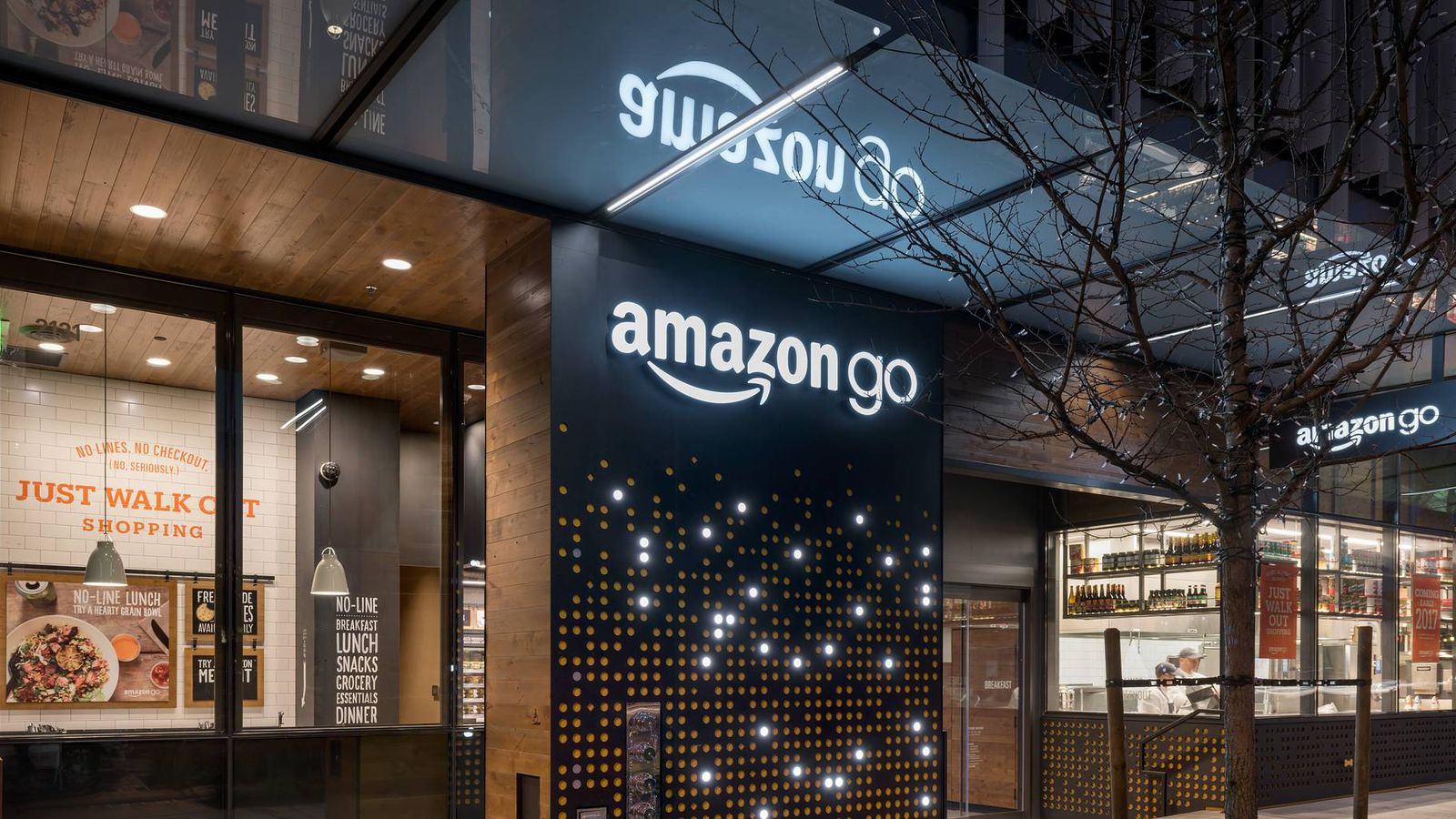 Amazon Just Launched A Cashierfree Convenience Store The Verge - Invoice system free online health food store