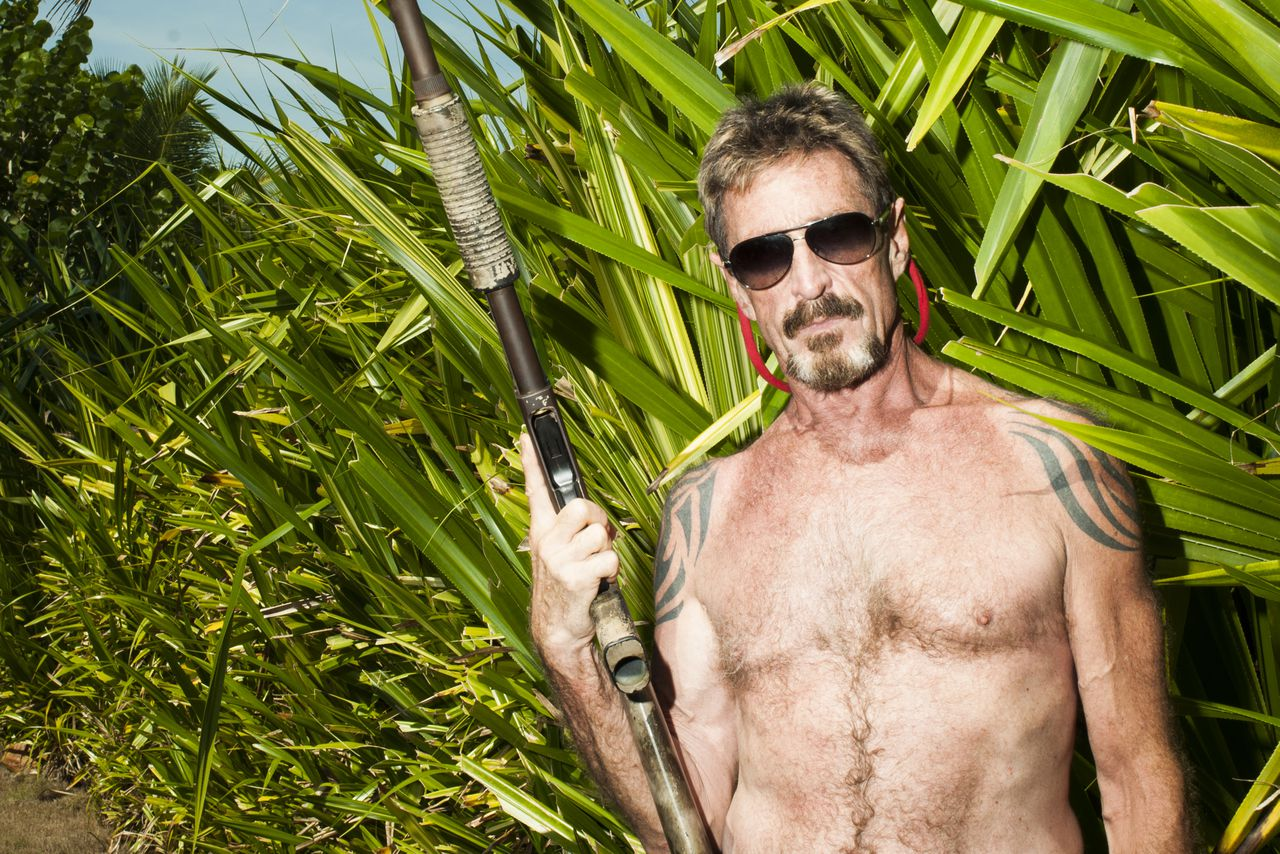 Image result for New Showtime doc accuses John McAfee of rape and involvement in two murders