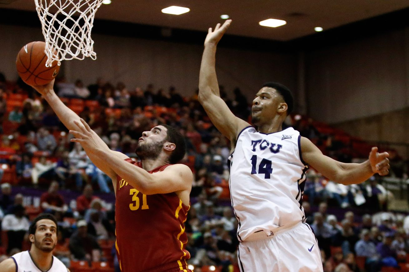 No. 19 Iowa State tops TCU 73-60 after beating top-ranked OU