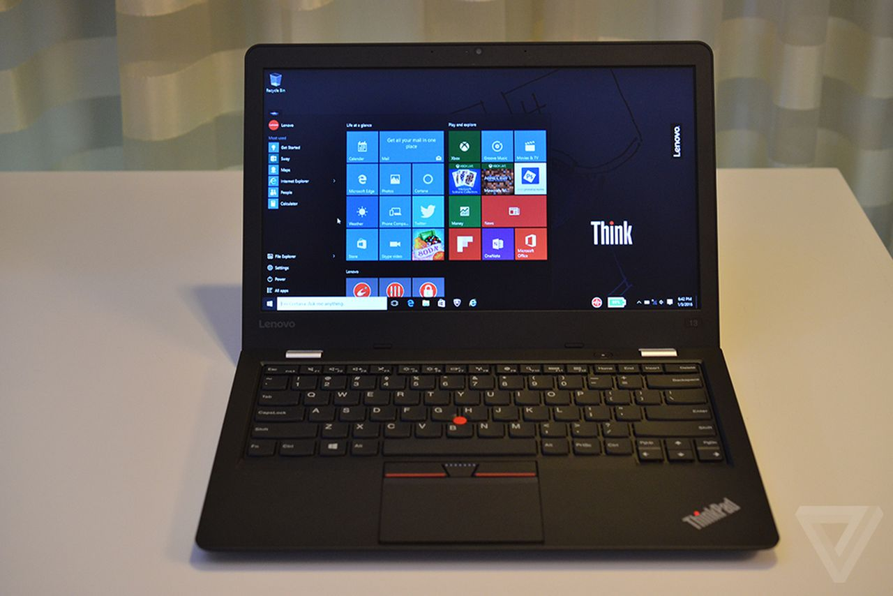 lenovo s thinkpad 13 lets you choose between windows 10 or. Black Bedroom Furniture Sets. Home Design Ideas