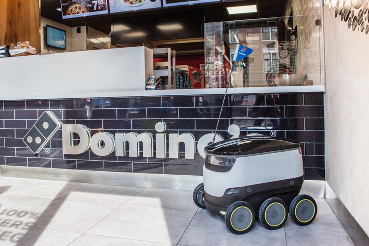 Robots Delivering Domino's Pizza Are Coming to Europe