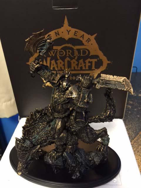 World Of Warcraft 10 Year Subscribers Will Get This Statue