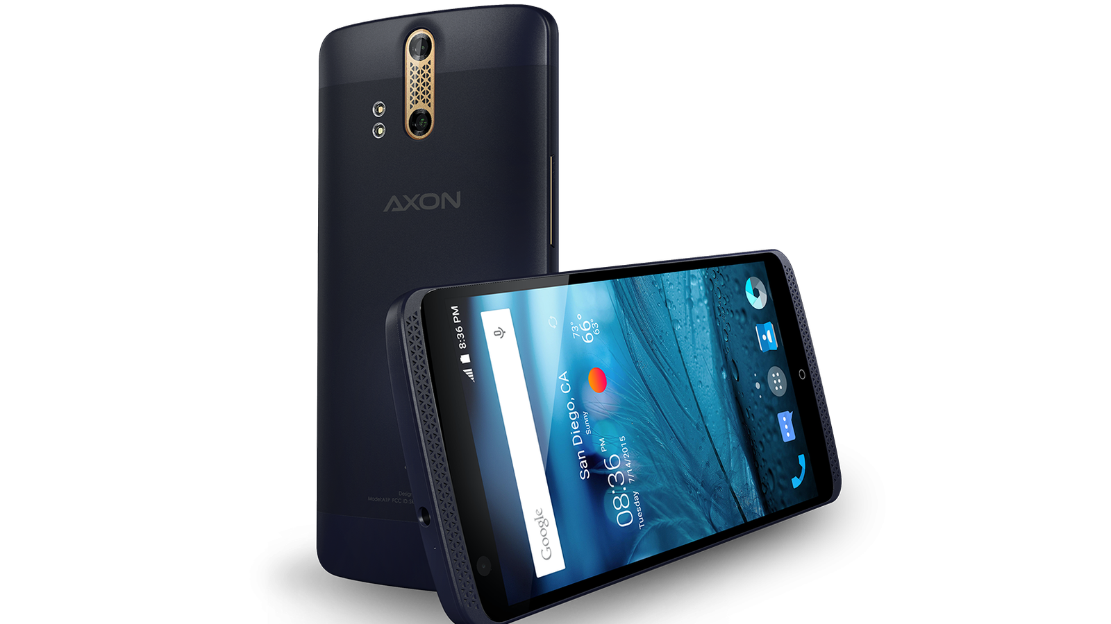 ZTE's Axon is a 5.5-inch unlocked phablet for the US