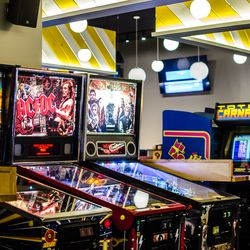 Games at A4cade, now open in Central Square.