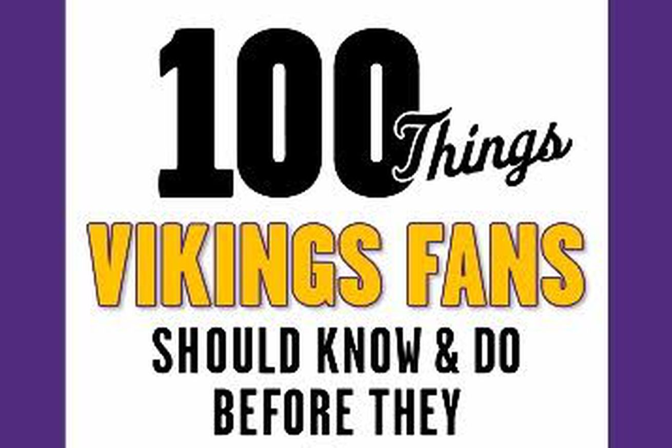 Review: 100 Things Vikings Fans Should Know and Do Before They Die