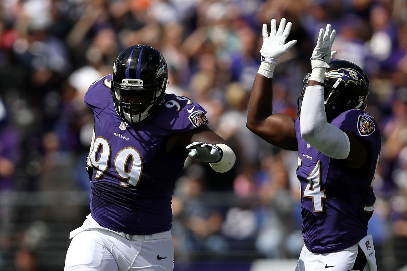 Ravens go on defensive in 13-7 win over Bills