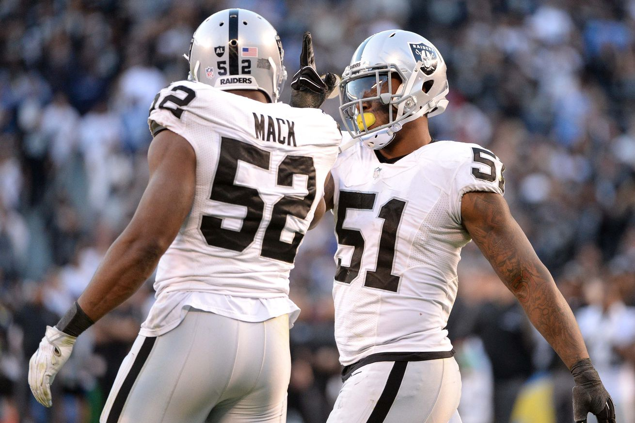 What condition Raiders position is in pre free agency: Edge rusher