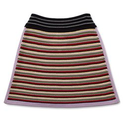 "<a href=""https://www.alexachung.com/row/mixed-crochet-skirt-multi-colour-68"">Mixed Crocheted Skirt</a>, $320"