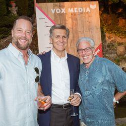 From left, Ryan Linder (MDC Partners), Marc Pritchard (Procter & Gamble), Scott Kauffman (MDC Partners)