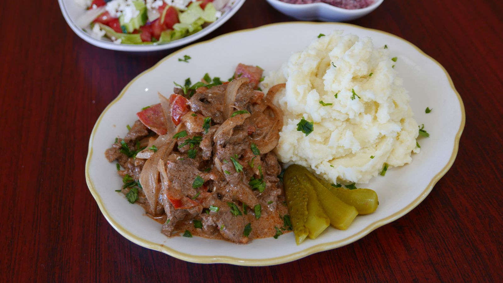 Find russian armenian comfort food at this valley strip for Armenian national cuisine