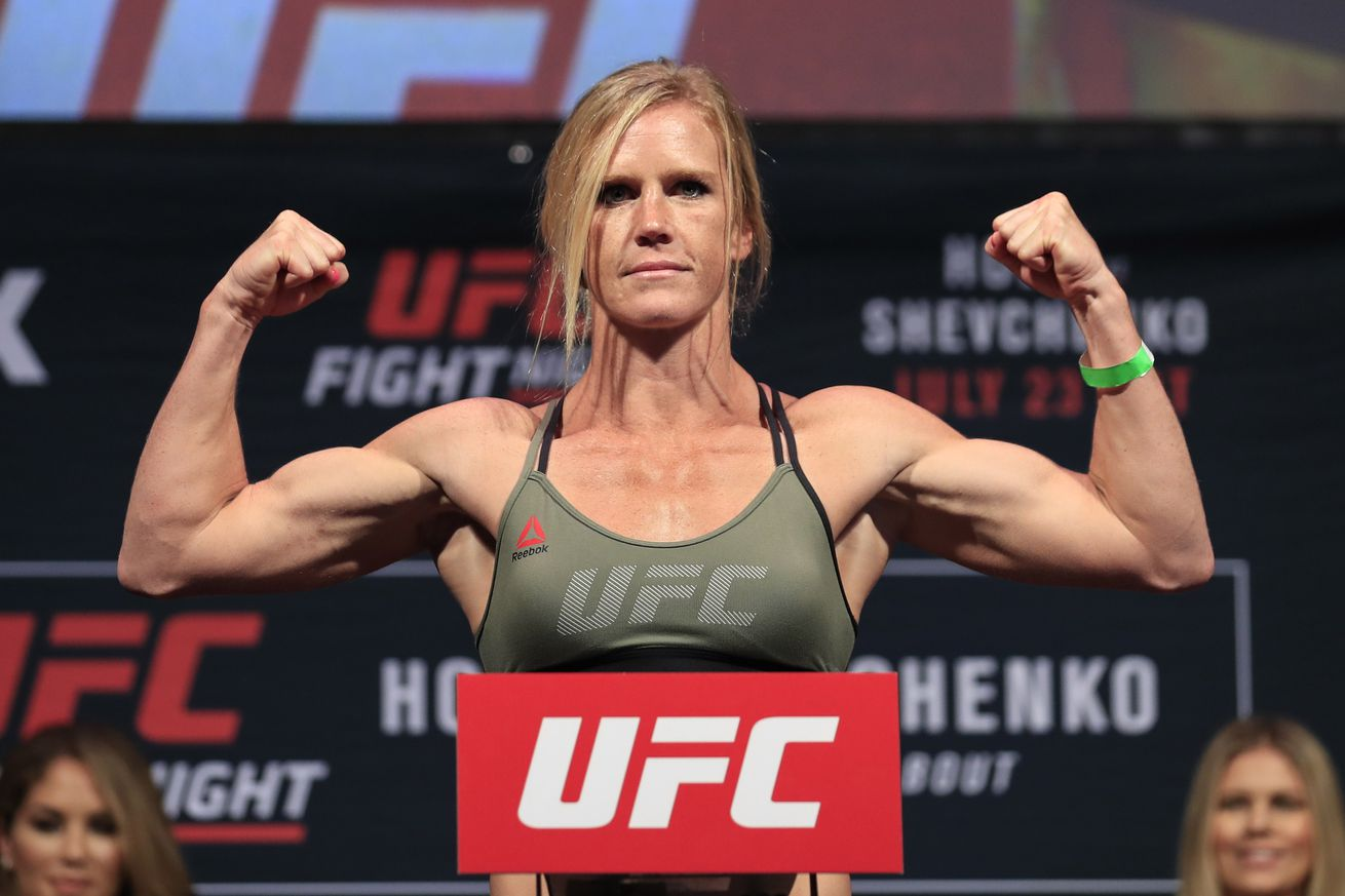 UFC on FOX 20: Holly Holm says she needs to believe in herself a bit more after loss to Valentina Shevchenko