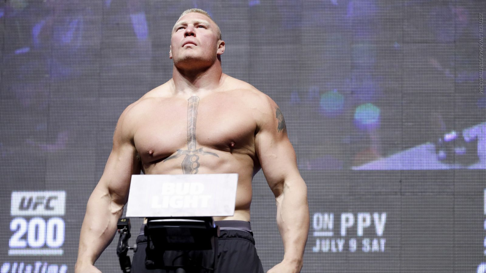 Manager: Fans never saw Brock Lesnar at his absolute physical peak in UFC