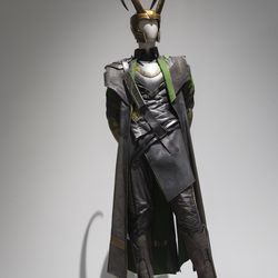Loki's costume.