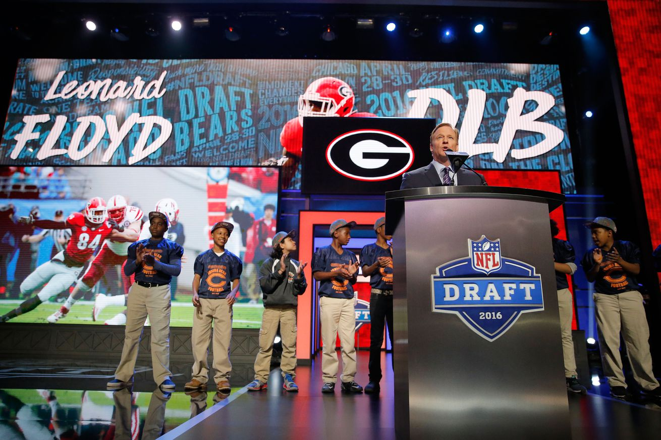 Nike NFL Jerseys - NFL Draft Class Power Rankings: Chicago Bears #2 - Windy City Gridiron